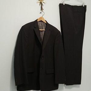 Wilke-Rodriguez Size 48R/43 Waist Suit  Modern Fit